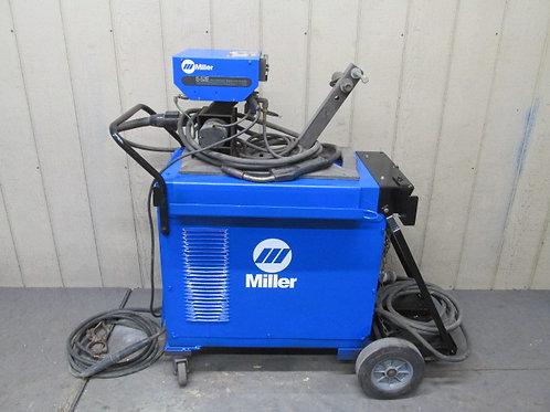 Miller CP-300 Mig Welder Welding Power Source w/S-52E Wire Feeder