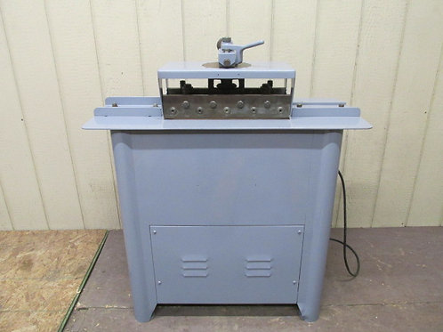 Pittsburg Machine Sheet Metal Lockformer 20 Gauge 3/4 HP 1 PH 115/230v