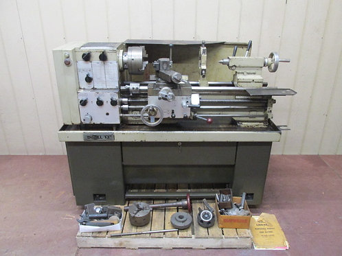 """DoAll 1325 Tool Room Metal Lathe 13"""" x 25"""" Variable Speed Lots of Extras+++"""
