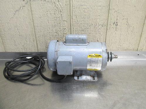 Baldor L3504M Electric Motor 1/2 HP 115/230v 1725 RPM 1 PH Frame 56