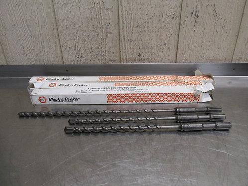 """Black & Decker Hammer Drill Concrete Bit Carbide Percussion Drilling 1/2"""" 5/8"""""""