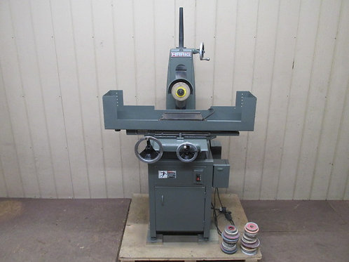 """Harig 612 Manual Surface Grinder 6"""" x 12"""" Magnetic Chuck 3 HP 3 PH 3600 RPM"""