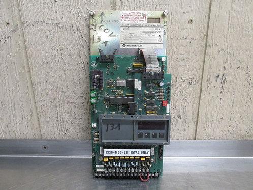 Allen Bradley 1336-B007-ECD-L3 AC Motor Drive 3 PH 13A top board only