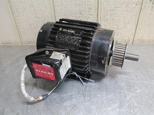 Allen Bradley No. CN145THTN6068BBP Electric Motor 2 HP 230/460v 1750 RPM 3 PH
