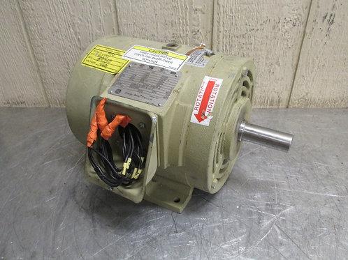 General Electric 5KS182ATE205A Energy Saver Premium Electric Motor 3 HP 1755 RPM