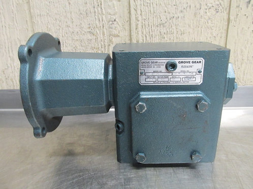 Grove BM220-2 Gear Reduction Box Speed Reducer Gearbox 50:1 Ratio .563 HP