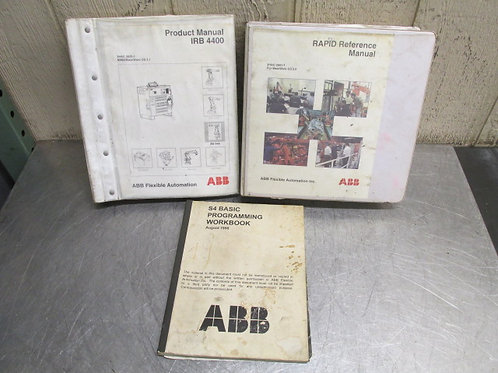 ABB IRB4400 Product Rapid Reference Manual S4 Programming Workbook