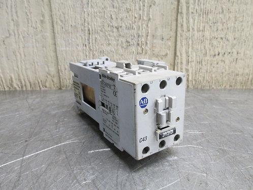 Allen Bradley 100-C43UDJ10 Contactor 600v 10 Amp Max