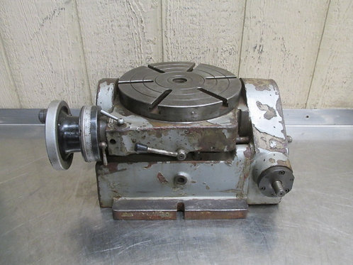 """10"""" Tilting Rotary Table Precision Machinist Milling"""