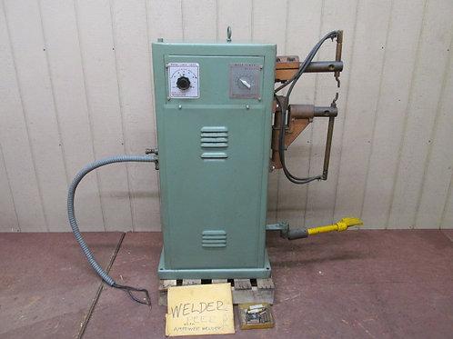 PEER Model FR-420 Spot Welder Water Cooled 20 KVA Rocker Arm Style 1 PH 220v