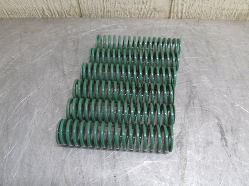 "Danly 9-2424-11 Green Die Spring 1-1/2"" X 6"" Replacement Spring Lot of 6"