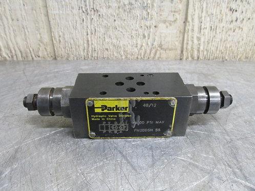 Parker FM2DDSN-55 Hydraulic Flow Control Valve 5000 PSI Max