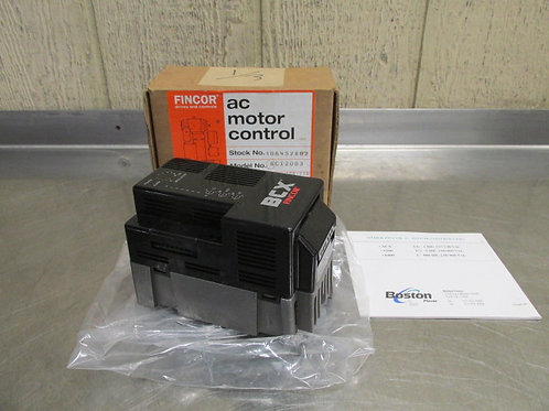 Fincor BCX2003 AC Motor Speed Control VFD Drive Variable Frequency 1/3 HP