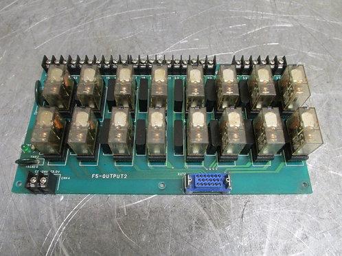 Fanuc F5-OUTPUT2 CPU Circuit Control Board