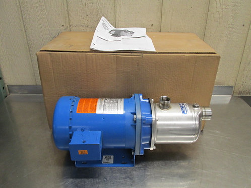 G&L Goulds HMS 1HM1E5D3EW Pump Centrifugal 15 GPM 4 Stage 1 HP Stainless Steel