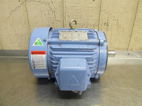 Crown Triton HKS184PR235N Electric Motor 5 HP 230/460v 1760 RPM 3 PH 184TC