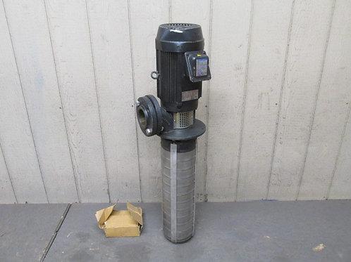 Ebara 65VTP1/10-63.7 Machine Immersion Coolant Pump 66 GPM 5 HP (Grundfos Style)