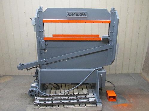 Omega Hydraulic Press Brake 3 PH 230/460v   Corrugated Steel Shear Dies