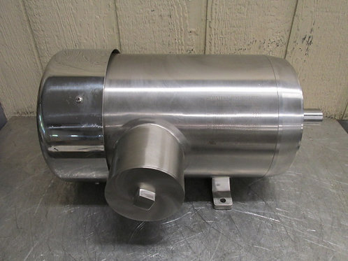 Stainless Motors Inc PH2H04T04B1T Electric Washdown Motor 7.5 HP 1760 RPM 3 PH