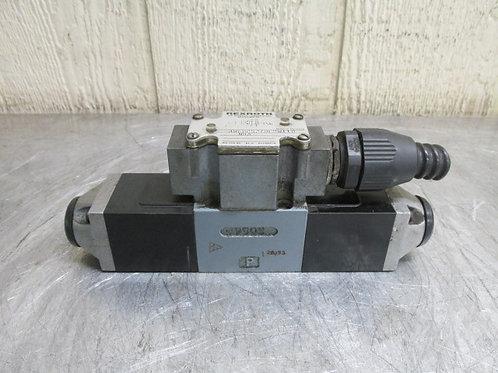 Rexroth 4WE6C52/0FBW110 NDA Hydraulic Directional Control Solenoid Valve 21 GPM