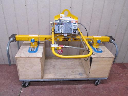 Anver L100M2-61 VPF-57-AC 500 Lbs Electric Vacuum Plate Lifter 115v 1 PH 8' x 6'