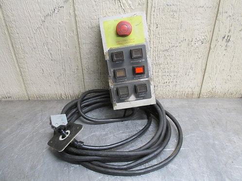 Miller Model C-1 Robot Controller Computer Interface Control Push Button Pendant