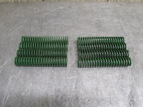 "Danly 9-1216-26 Green Die Spring 3/4"" x 4"" Replacement Spring Lot of 8"