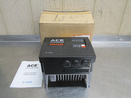 Boston Gear Fincor ACE-KL-460V-3P-1HP AC Motor Drive VFD Variable Frequency 1 HP