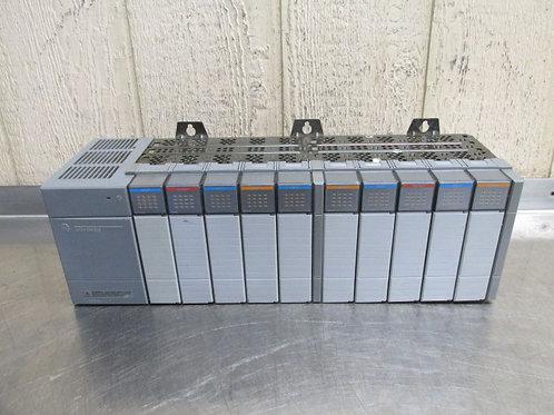 AB Allen Bradley SLC-500 1746-P2 Programmable Controller 10 Slot Rack 5/24 VDC