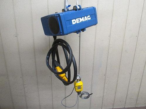 Demag D-BP-55 Balance Air Pneumatic Cable Tool Balancer Hoist 125 lbs