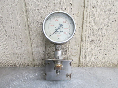 Hammelmann 23000 PSI Pressure Gauge for Hammelmann HDP 63 Pump