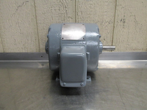 "General Electric 5K182AG1 Motor 1.5 HP 208-220/440v 3 PH 3495 RPM 7/8"" Shaft"