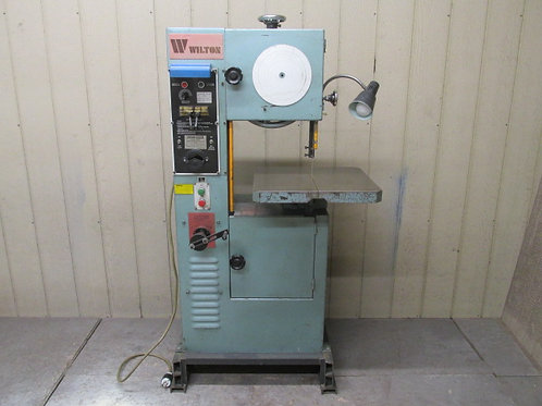 """Wilton 8014 Vertical Bandsaw 14"""" Variable Speed Band Saw w/Blade Welder 3 PH"""