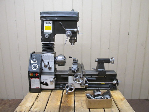 Smithy Granite 1324 Multi-Purpose Lathe Mill Milling Machine Combo 3 in 1