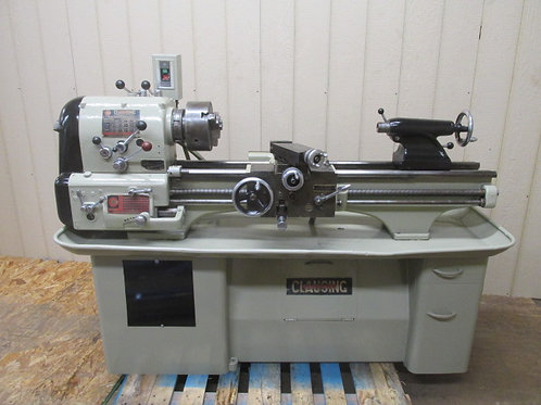 "Clausing Colchester 13"" x 36"" Metal Engine Lathe 8"" Chuck Geared Head"