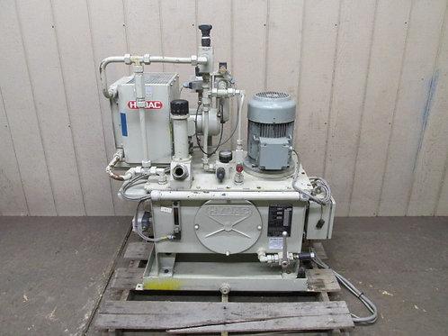 Hydac 63449T-070-020 Hydraulic Power Unit w/Aftercooler 7.92 GPM 1232 PSI 6.1 HP