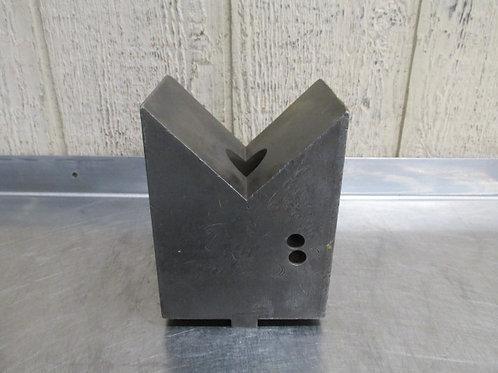 """5"""" x 4"""" x 7"""" Steel Machinist V-Block Setup Block Fixture"""