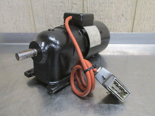 Meltex 2681.0001 ZALGN-022 Electric Gearmotor 118 RPM .12 Kw VDE-0530
