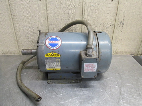 Baldor FM3615T Electric Motor 5 HP 1725 RPM 230/460v 3 PH DoALL #091-195693
