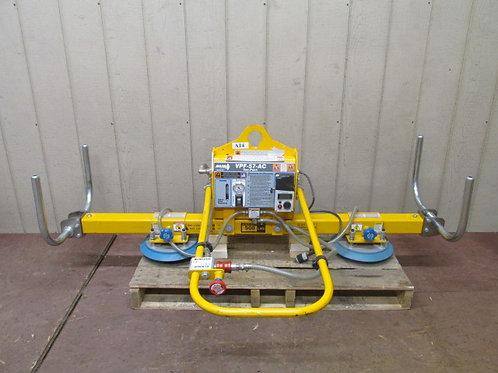 Anver L100M2-61 VPF-57-AC-L 500 Lbs Vacuum Plate Lifter 115v 1 PH 8' x 6'
