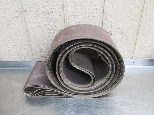 """1A 150-P Sanding Belt Sand Paper 20' Ft. x 8"""" Wide Sandpaper 150 Grit Lot of 8"""