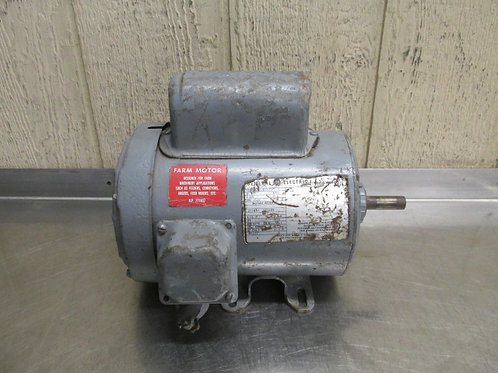 GE General Electric Motor 1 HP 115v 1725 RPM 1 PH Frame 56