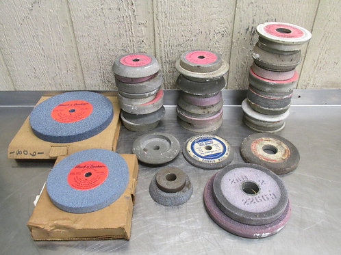 "Machinist OD ID Surface Grinder Grinding Wheels 3-1/2"" to 8"""