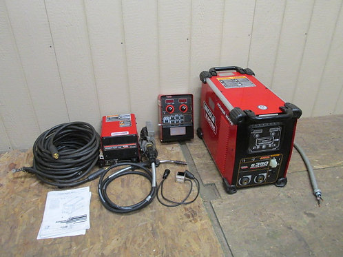 Lincoln Electric S350 Power Wave MIG Welder Power Feed 10M Wire Feeder +++