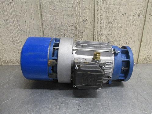 MGM Type BA-71B4 Electric Brake Motor 1400/1680 RPM .37/.44 Kw 3 PH 230/460v
