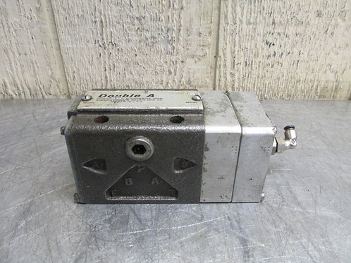 Double A XFQ-01-TT-10A1 Hydraulic Valve Pneumatic Air Operated Solenoid