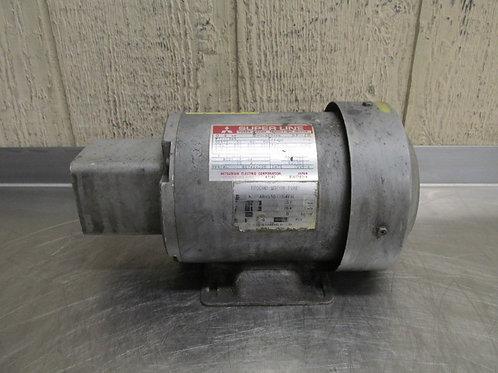 "Mitsubishi SF-JR Electric Motor 1/2 HP 220v 3 PH 1700 RPM 1/2"" Shaft"