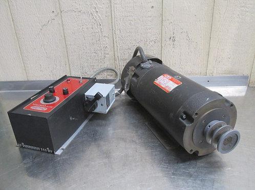 Dayton 4Z380 Electric Motor 2 HP 180v DC 1725 RPM with Speed Controller 115v