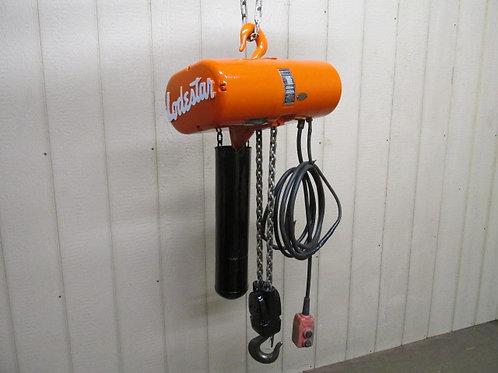 CM Loadstar Model RR Electric Chain Hoist 2 Ton 4000 Lbs 3 PH 15' Ft. Lift