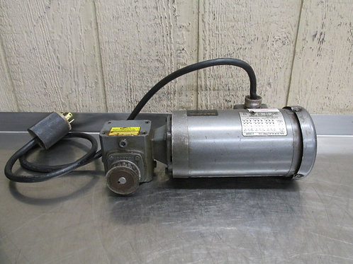Baldor 33-1163-1164 Gearmotor 1/3 HP 60:1 Ratio 28.75 RPM Boston F710-60SB4G6D0R